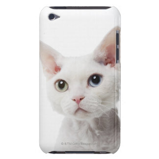White odd-eyed cat 2 Case-Mate iPod touch case