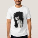 White odd-eyed cat 3 t shirt