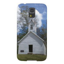 white old church in the mountains galaxy s5 cover