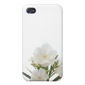 White Oleander Case For iPhone 4