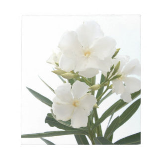 White Oleander Notepad