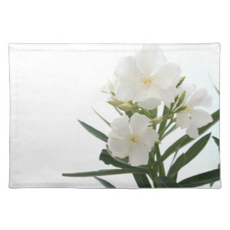 White Oleander Place Mat