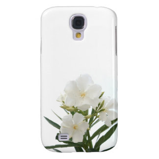 White Oleander Samsung Galaxy S4 Cover