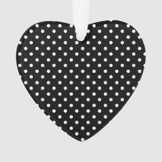 White on Black Dot Design