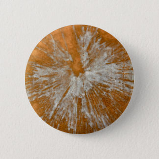 White on Gold Paintball Button