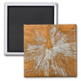 White on Gold Paintball Magnet