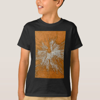 White on Gold Paintball T-Shirt
