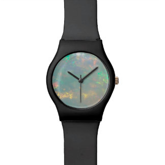White Opal Dial Wrist Watches