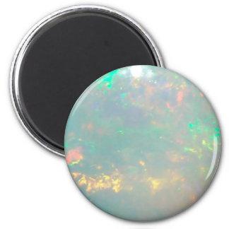 White Opal Magnet