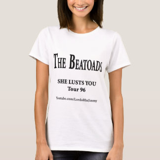 White or Color BeaToads T-shirt (Women)