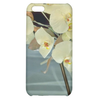 white Orchid bridal bouquet - Phalaenopsis flowers Case For iPhone 5C