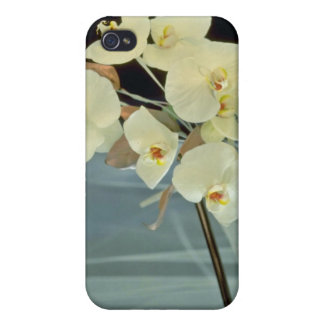white Orchid bridal bouquet - Phalaenopsis flowers iPhone 4 Covers