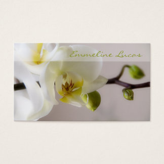 White Orchid • Business Card