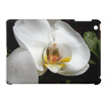 White Orchid flower iPad Mini Cover