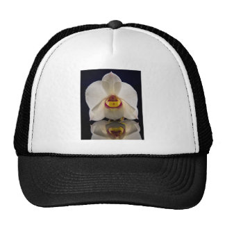 White Orchid Hat