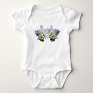 White Orchid Hawaiian Wedding Song Tee Shirt