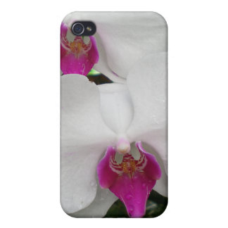 White Orchid  iPhone 4 Case
