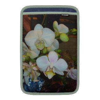 White Orchid MacBook Air Sleeves