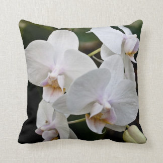 White Orchid Pillow
