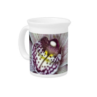 White Orchid Drink Pitcher
