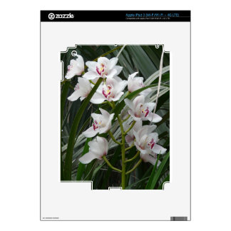White Orchid Skin For iPad 3