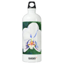 White Orchid Water Bottle