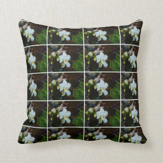 White Orchids American MoJo Pillow