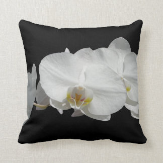 White Orchids American MoJo Pillows