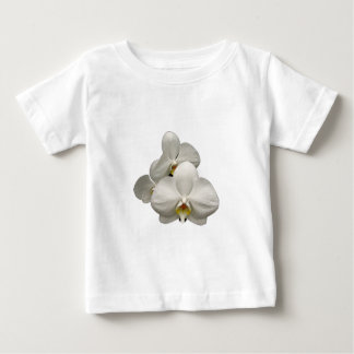 White Orchids Baby T-Shirt