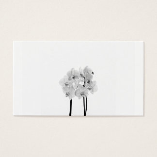 White Orchids Business Card