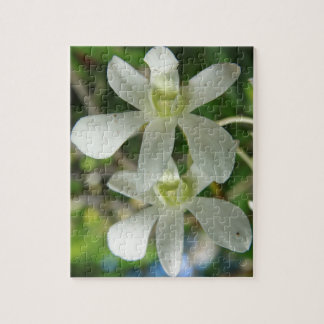 White Orchids I Jigsaw Puzzle
