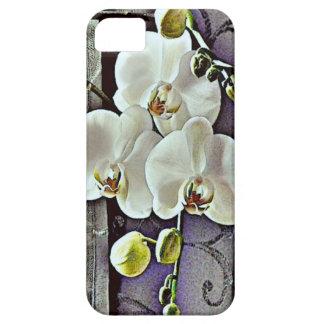 White Orchids iPhone SE/5/5s Case