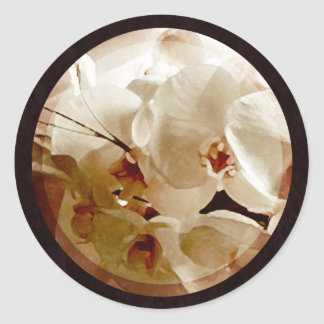 white orchids on red 1 envelope seals