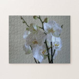 White orchids puzzles