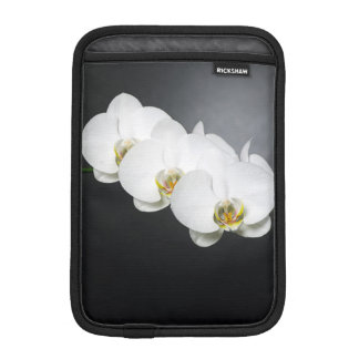 White orchids sleeve for iPad mini
