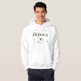 White Organic Hoodie