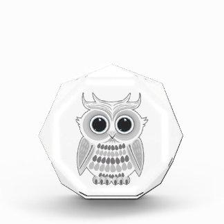 White Owl Acrylic Award