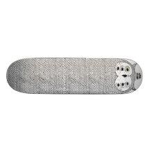 White Owl by Keaton Henson Skate Board Decks