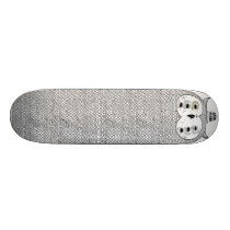 White Owl by Keaton Henson Skateboard Deck