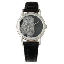 White owl custom timepiece watch