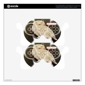 white owl drawing PS3 controller skins