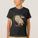white owl drawing T-Shirt