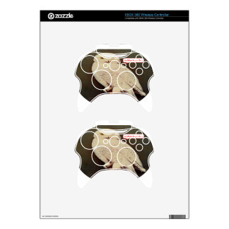 white owl drawing xbox 360 controller skin