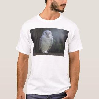 White Owl in Night T-Shirt
