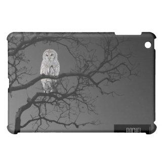 White Owl in Winter Tree iPad iPad Mini Case