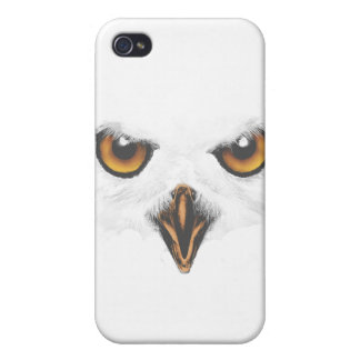 White Owl iPhone 4/4S Case