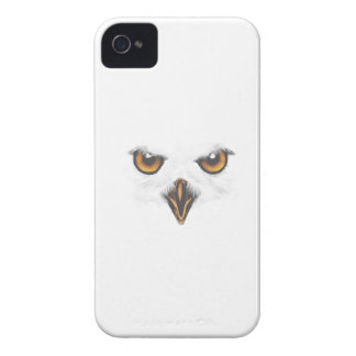 White Owl iPhone Case - White Case-Mate iPhone 4 Cases