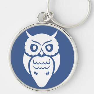 White Owl Key Chain