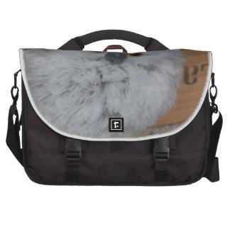 White Owl Bag For Laptop