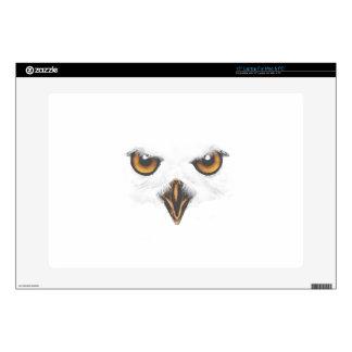 White Owl Laptop Skin